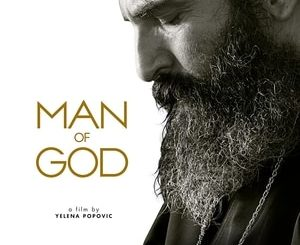 Poster of Man of God, about Saint Nektarios of Aegina with Mickey Rourke