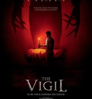 The poster for The Vigil